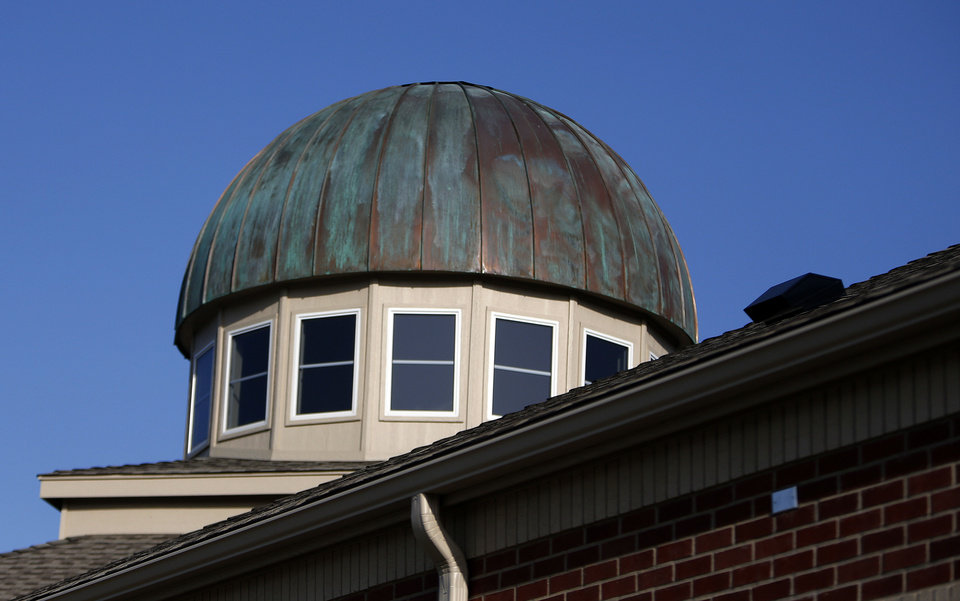 Photo - The new mosque built by the Islamic Society of Norman is pictured at 420 E Lindsey in Norman.   SARAH PHIPPS - SARAH PHIPPS