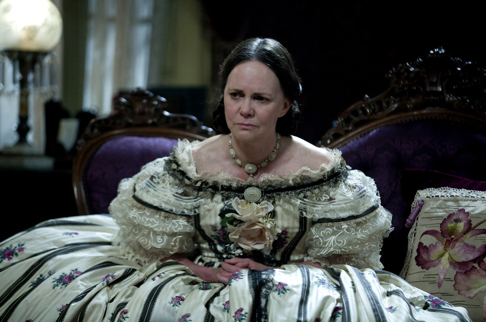 "Supporting Actress nominee Sally Field as Mary Todd Lincoln in a scene from ""Lincoln."" 20th CENTURY FOX PHOTO <strong>David James</strong>"