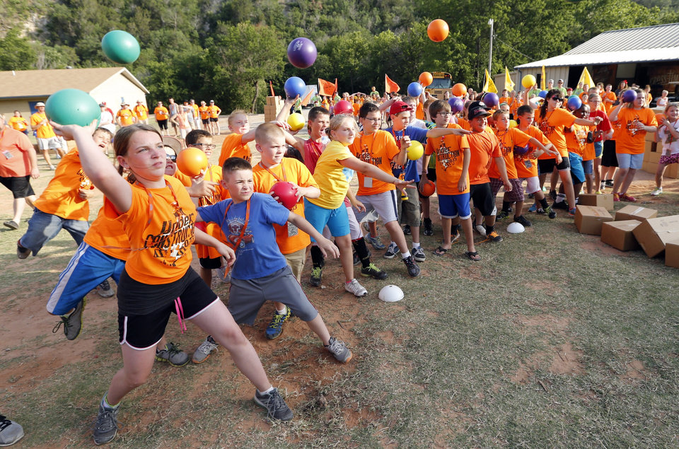 at Falls Creek Youth Camp on Tuesday, June 25, 2013 in Davis, Okla.  Photo by Steve Sisney, The Oklahoman