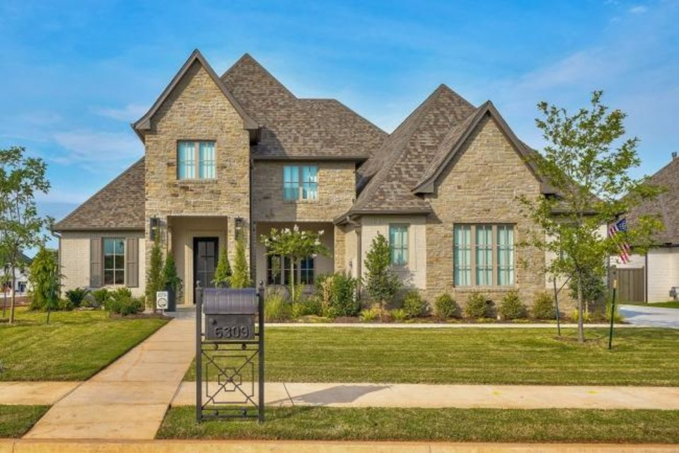 Photo -  French Construction's entry at 6309 Wentworth Drive in Edmond's Oak Tree addition won Best Overall in the $675,000-$749,999 category of the Parade of Homes Fall Classic. [CENTRAL OKLAHOMA HOME BUILDERS ASSOCIATION]
