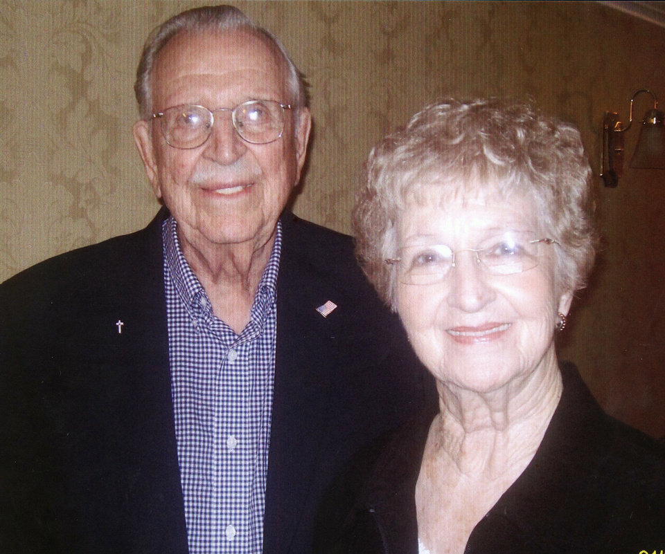 Milt and Mid Krause, of Oklahoma City, were married Aug. 31, 1947, in Herington, Kan.