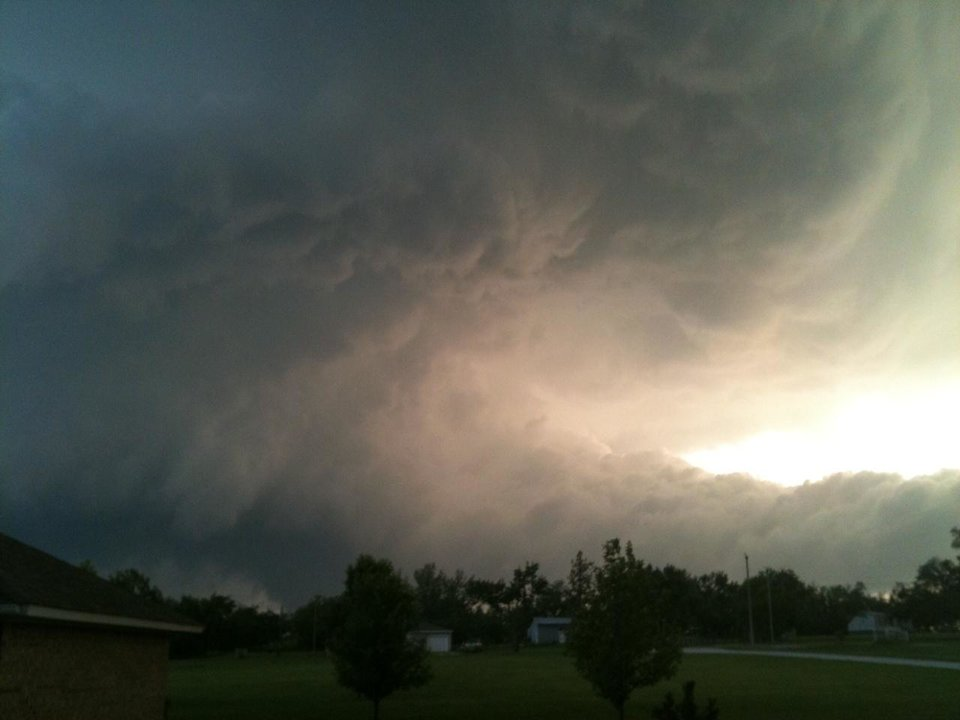 Storm at center ok from Cecil Wainscott