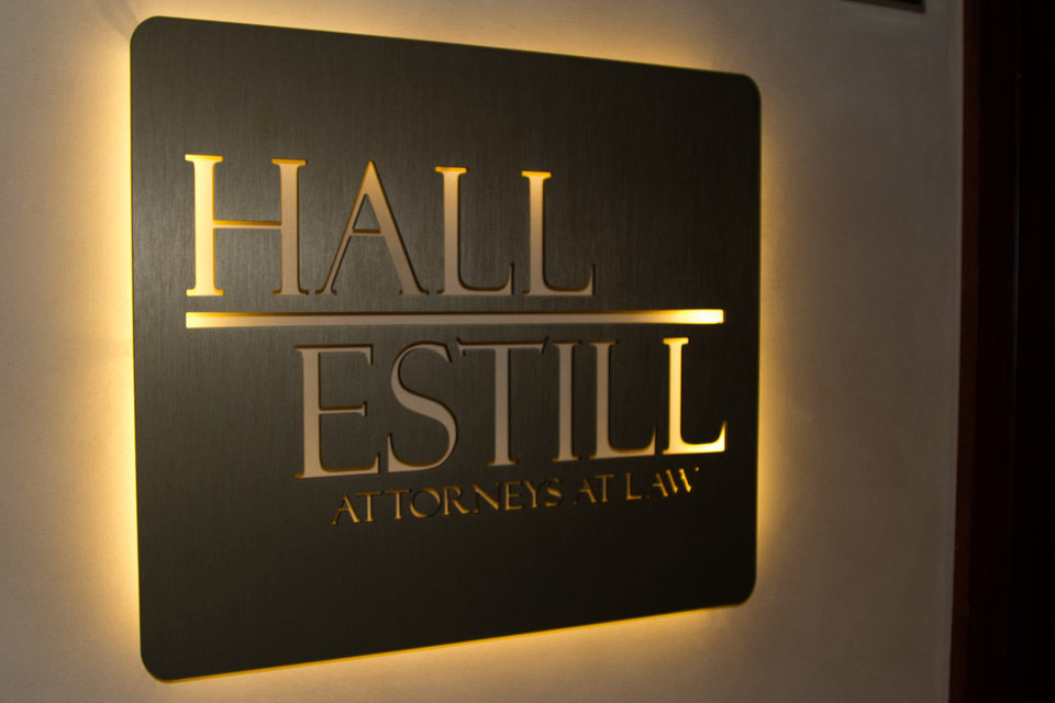Photo - Hall Estill law firm, downtown Oklahoma City.  Will Kooi - PROVIDED