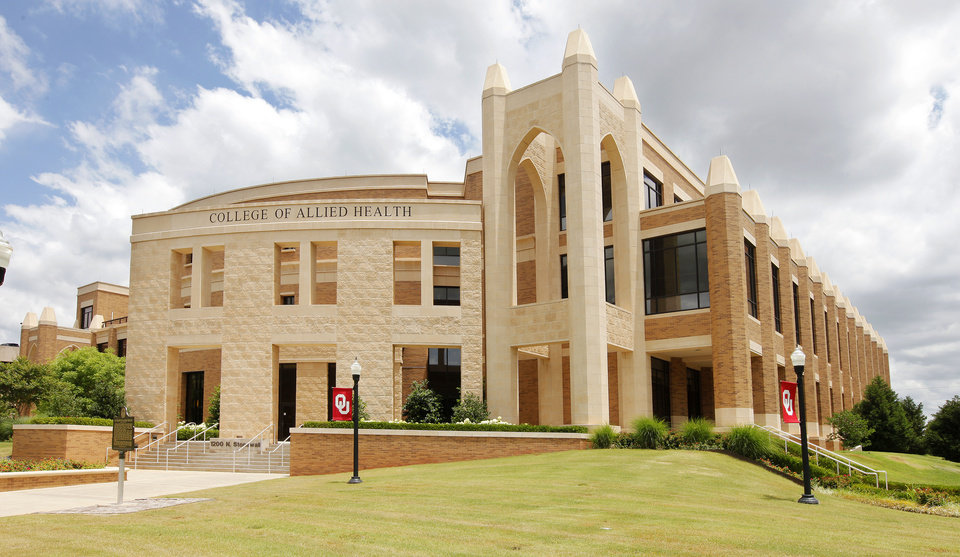 Photo -  College of Allied Health, 1200 N Stonewall, on the University of Oklahoma Health Sciences Center campus. Boldt Co. led construction of the project. PHOTO BY PAUL B. SOUTHERLAND, THE OKLAHOMAN   PAUL B. SOUTHERLAND -  PAUL B. SOUTHERLAND