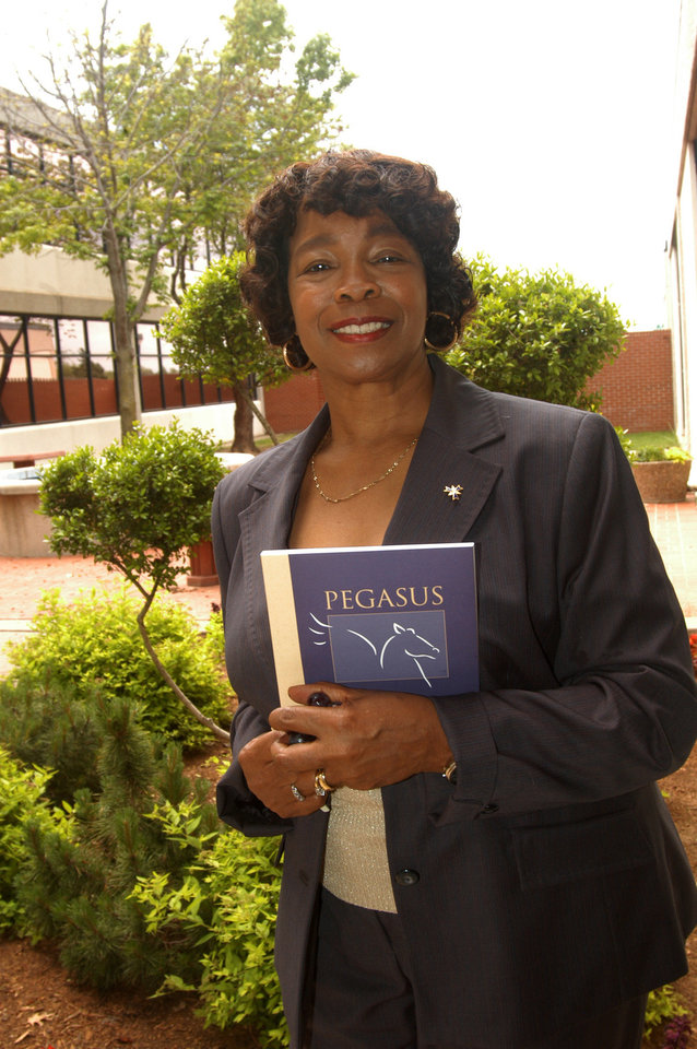 Pictured is Regent Betty J.C. Wright. The 2007 Rose State College Pegasus Literary publication was dedicated to Ms. Wright for all her work and devotion to education, Rose State College and the community.  The new 2007 Pegasus is now on sale for $3.00.  Please call Susan Dawson O�Brien at 733-7518 if interested.<br/><b>Community Photo By:</b> Steve Reeves<br/><b>Submitted By:</b> Donna, Choctaw