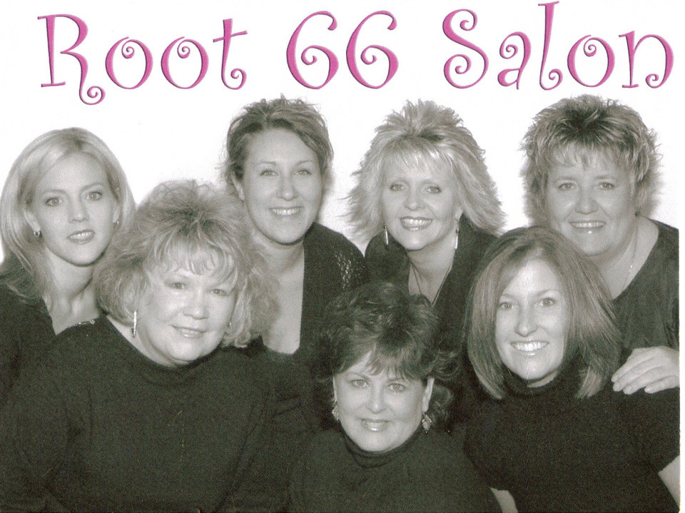 Tara Stone, Norene Fishel, Nikki Theiron, Pam Miller & Vicki Jackson (Co-owners of Root 66 Salon & Co.)Toni Endsley & Cindy Chapman<br/><b>Community Photo By:</b> Ana Rodriquez/Little Moments Photography<br/><b>Submitted By:</b> Vicki, Oklahoma City