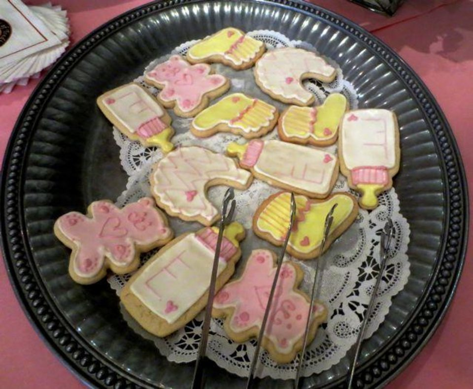 Iced cookies at the party. (Photo by Helen Ford Wallace).
