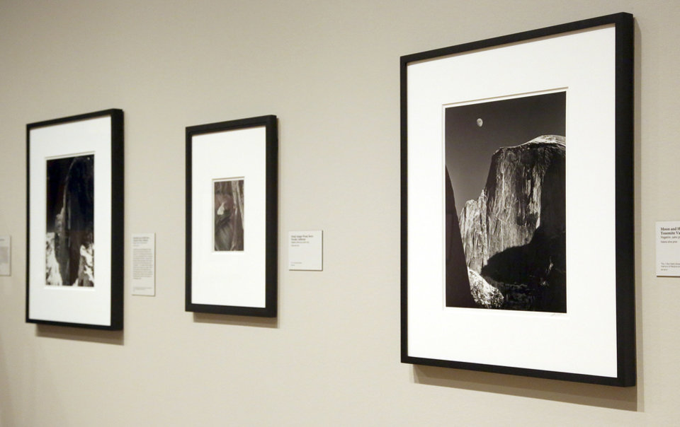 Photo - This March 14, 2014 photo shows a photo exhibit entitled,