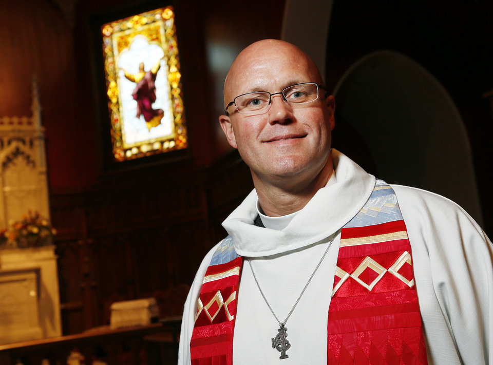 Photo - The Rev. Justin Lindstrom Dean at St. Paul's Episcopal Cathedral
