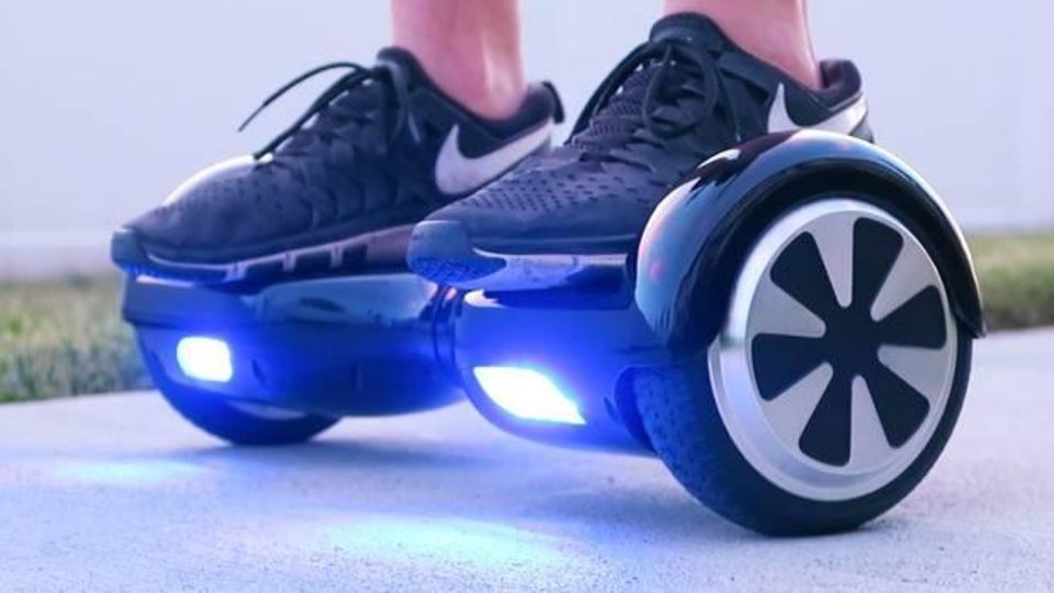 Photo -  A hoverboard. [photo provided]
