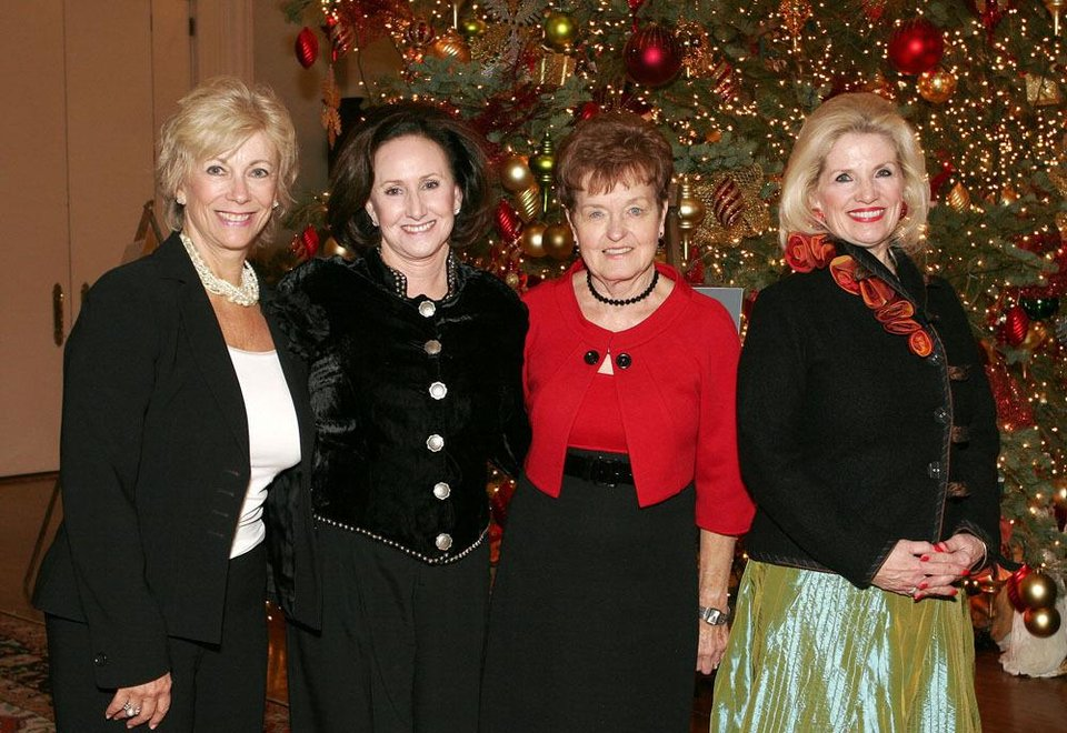 Barbie Vervack, Marilyn Bethea, Barbara Kerrick, Karen Mayfield.     PHOTO BY DAVID FAYTINGER, FOR THE OKLAHOMAN