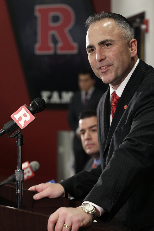 <b>14. KYLE FLOOD, RUTGERS</b> <br />  Kyle Flood replaces Greg Schiano. Schiano stunned Rutgers by taking the Tampa Bay Buccaneers job five days before the Feb. 1 signing day. Rutgers moved quickly to stabilize the program by promoting Flood, which seemed to be good for recruiting, but you never know about quick hires like this.