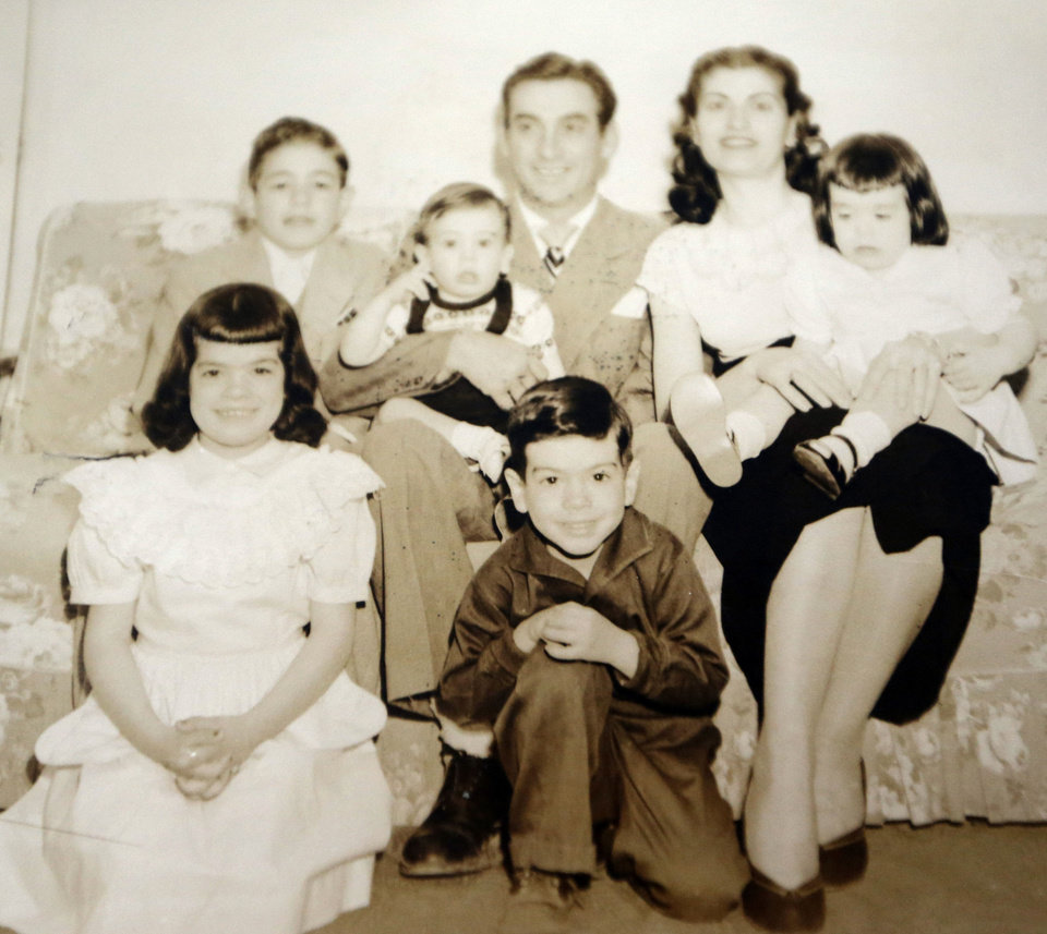 Sadie Fanali's family is pictured. Photo by Sarah Phipps, The Oklahoman