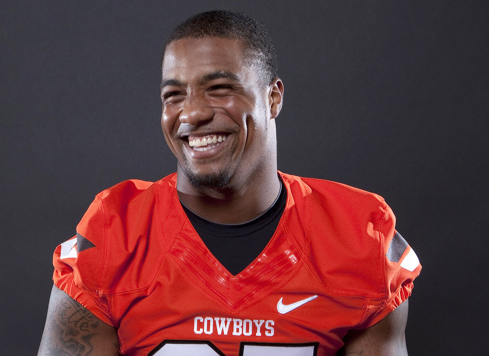 Oklahoma State's Tracy Moore was the Cowboys' third-best pass-catcher in 2011.  Photo by Sarah Phipps, The Oklahoman Archives