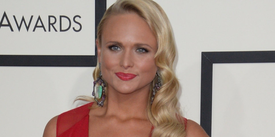 Photo - Miranda Lambert arrives on the red carpet for the 56th Grammy Awards at the Staples Center in Los Angeles, California, January 26, 2014. AFP PHOTO ROBYN BECK        (Photo credit should read ROBYN BECK/AFP/Getty Images)
