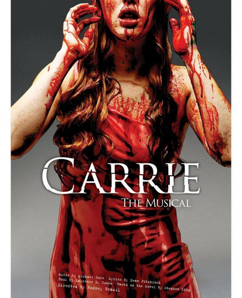 """Photo -  Oklahoma City Theatre Company will stage """"Carrie: The Musical,"""" based on Stephen King's famed novel, around Halloween. Photo provided"""