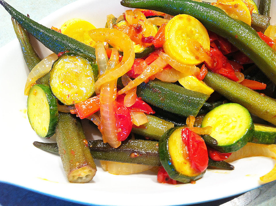 This combination of seasonal summer vegetables is the perfect addition to any meal. <strong>SHERREL JONES - THE OKLAHOMAN</strong>
