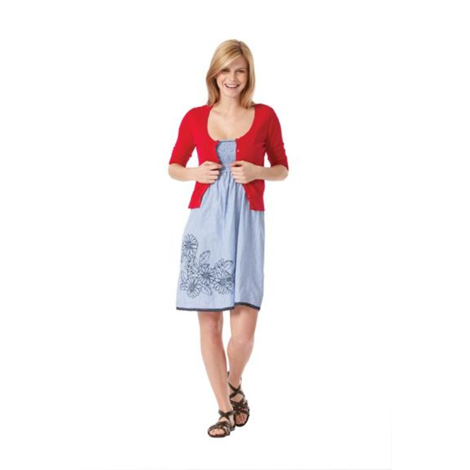 Photo - Mossimo tube dress and cardigan rom Target