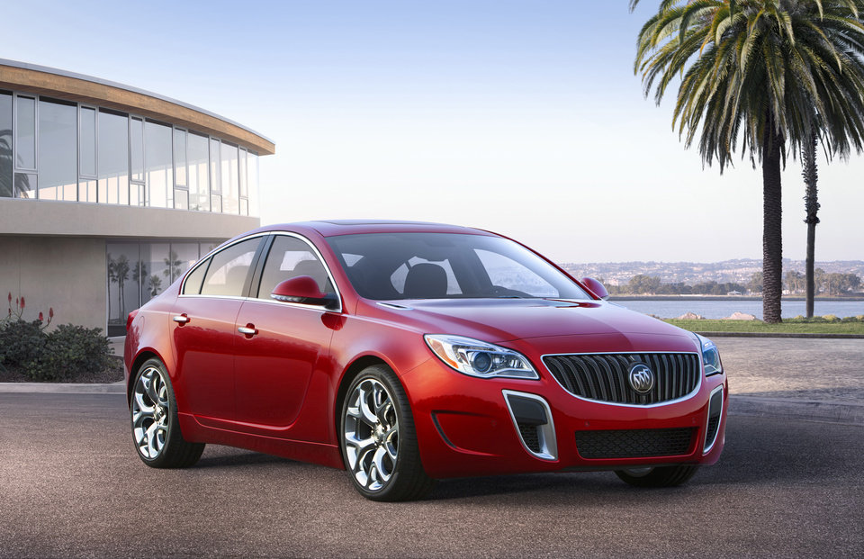 Photo - This undated photo provided by General Motors shows the 2014 Buick Regal GS. (AP Photo/GM)