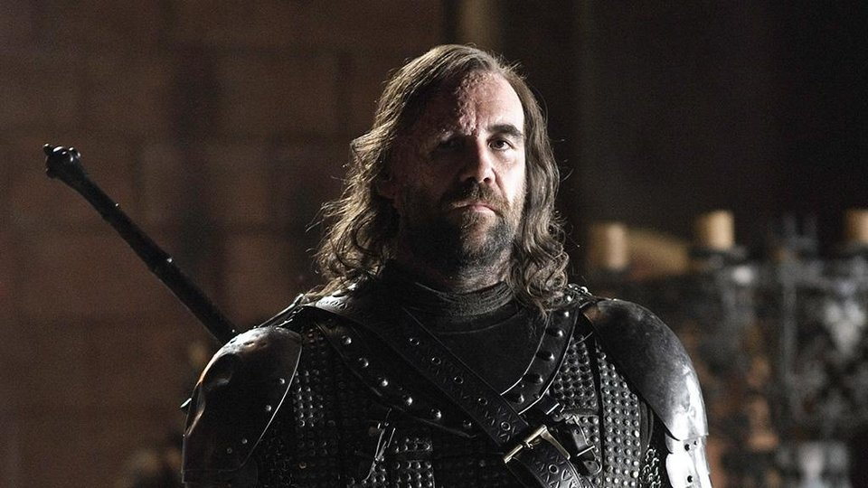 Photo -  Sandor Clegane, aka the Hound, aka Dog, aka Burnt Face Man.