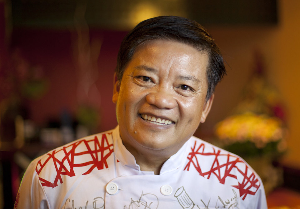 Chef Khai Duong,made a name for himself in San Francisco, but has opened Nha Hang Bun K in Ho Chi Minh City in his native Vietnam. (LiPo Ching/San Jose Mercury News/MCT)