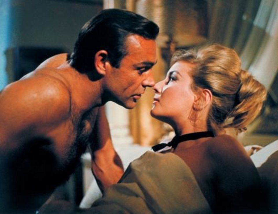 "A scene from my all-time favorite James Bond movie, ""From Russia with Love."""