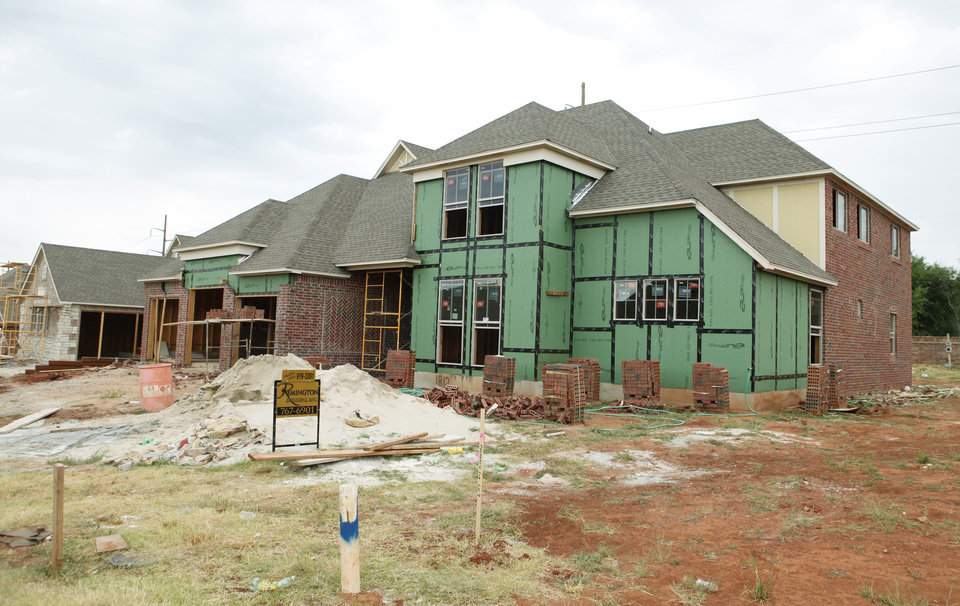1812 NW 193 in Thornhill housing addition built by Remington Builders, Inc in Oklahoma City, Oklahoma September 1 , 2010. Photo by Steve Gooch, The Oklahoman