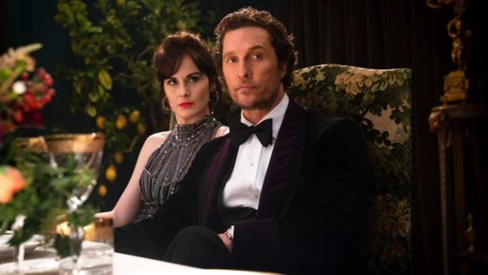 Photo -  Matthew McConaughey and Michelle Dockery star in