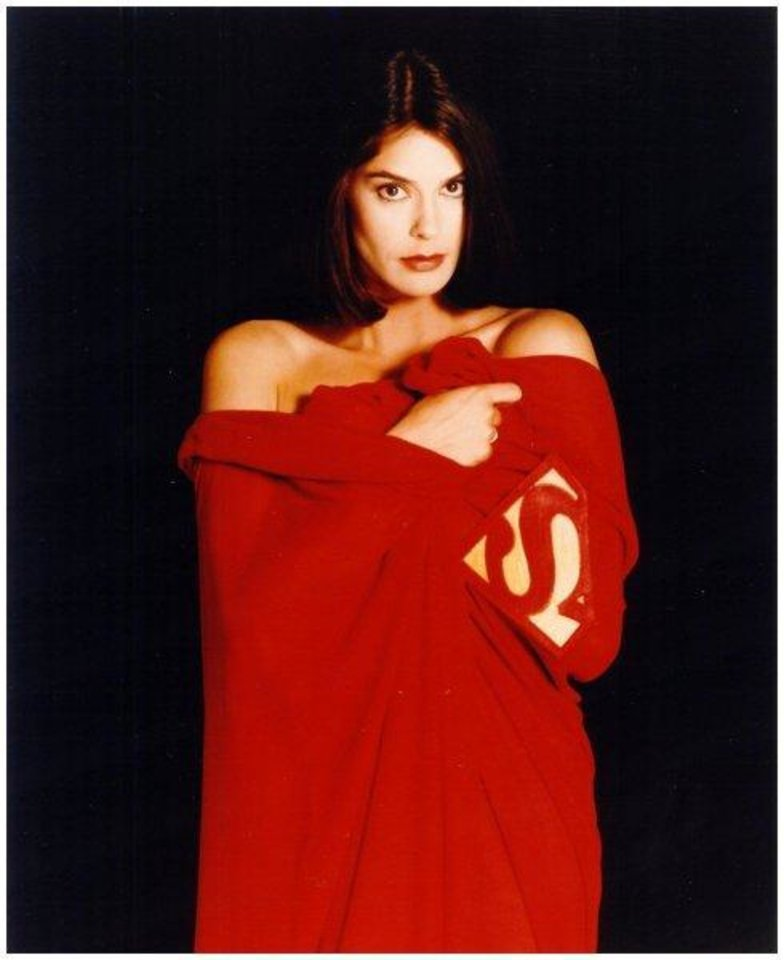 Photo -  Teri Hatcher as Lois Lane.