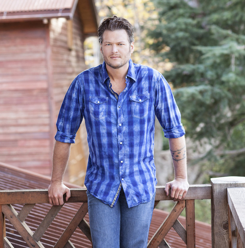 """Photo -  Blake Shelton An Ada native and Tishomingo resident, country music superstar Blake Shelton has become a television staple in his role as a celebrity coach on NBC's hit reality series """"The Voice."""" The Grammy-nominated singer-songwriter last fall was named the Country Music Association's male vocalist of the year for the fourth straight year."""