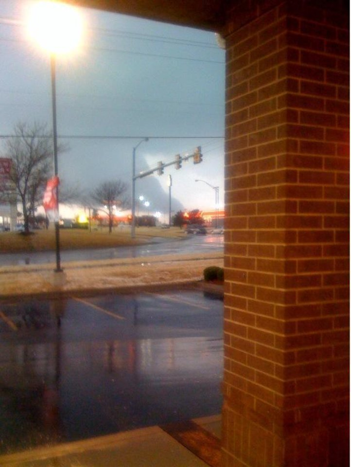 Photo - This picture was taken right outside Walgreens at Garth Brooks and Vandament in Yukon by Erin Wells.
