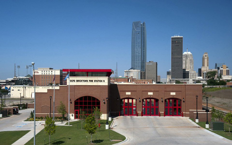 Photo - LWPB Architecture provided architectural services for Bricktown Fire Station No. 6 at 21 N Lincoln.