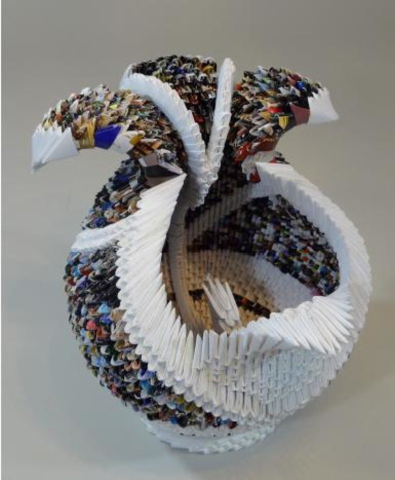 """Temptation,"" Zhe Zhi Chinese style paper sculpture by Francene Levinson. Photo provided"