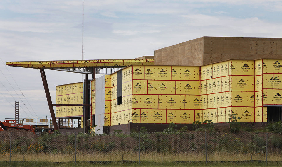 The Thunder practice facility won't be ready by training camp. PHOTO BY DAVID MCDANIEL, THE OKLAHOMAN