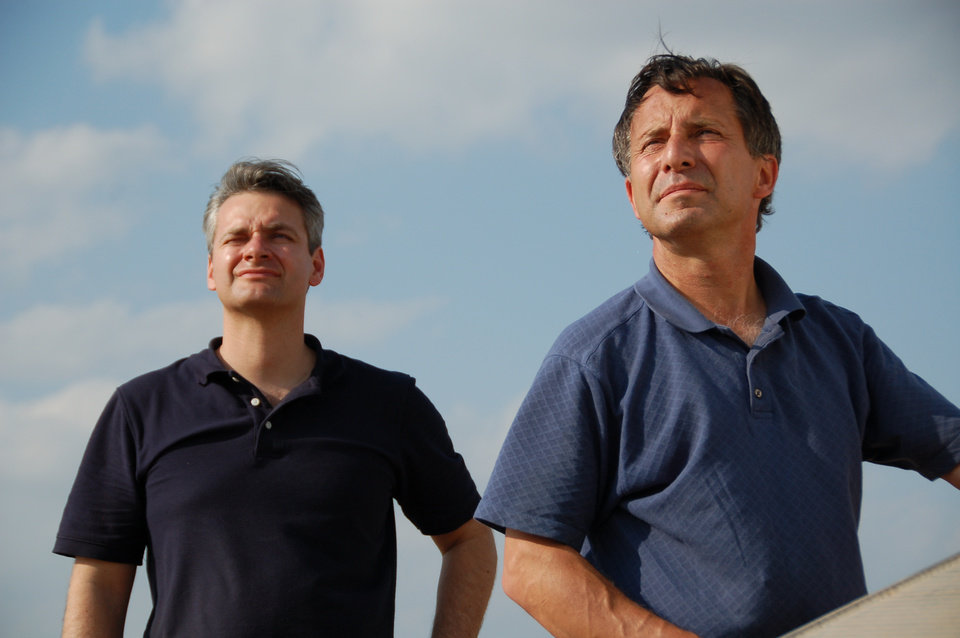 Photo - Carl Young and Tim Samaras