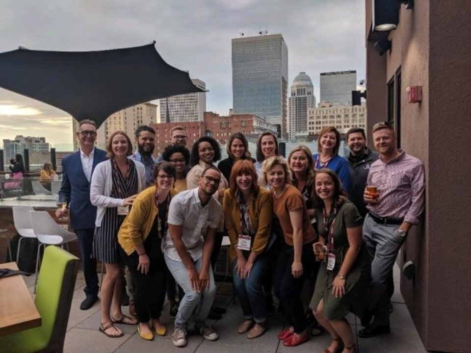 Photo -  An Oklahoma City delegation of urban planners, developers, architects, engineers and city staff were among those who attended the Congress for New Urbanism in Louisville, Ky., earlier this year. [PROVIDED]