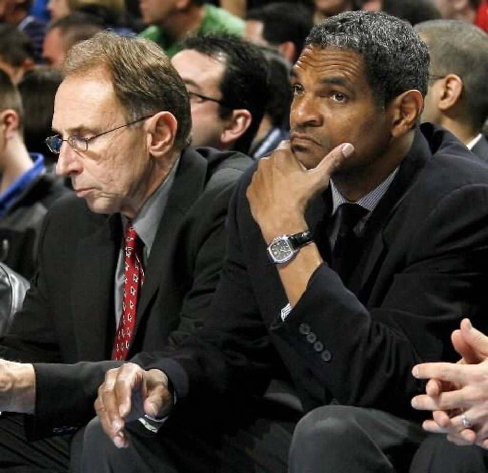 First former assistant coach Ron Adams (left) headed to Chicago. Now Maurice Cheeks could be on the move.