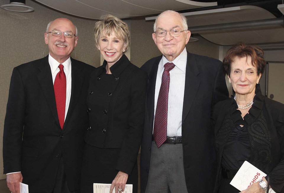 James Pickel, Ann Felton, Robert and Jeaneen Naifeh.