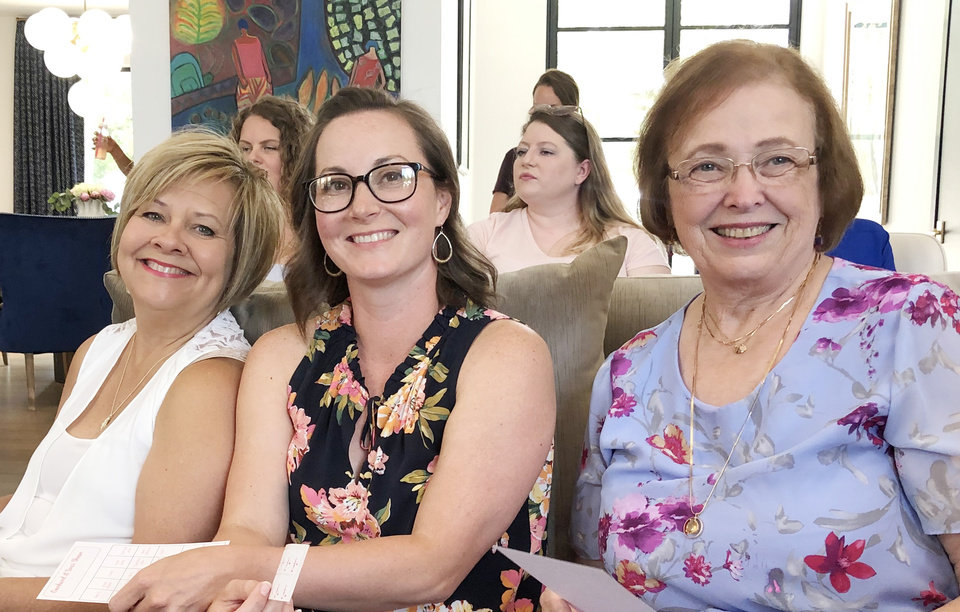 Photo - Sherri, Leslie and Marianne Brown. PHOTO PROVIDED