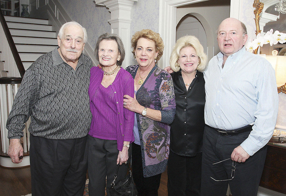 Byron and Pat Gambulos, Barbara Beeler, Debby and Paul Dudman.  PHOTOS BY DAVID FAYTINGER, FOR THE OKLAHOMAN