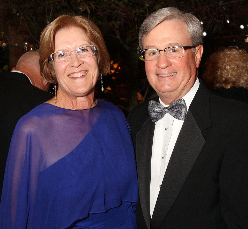 Suzanne and Scott Spradling. Photo by David Faytinger for The Oklahoman__