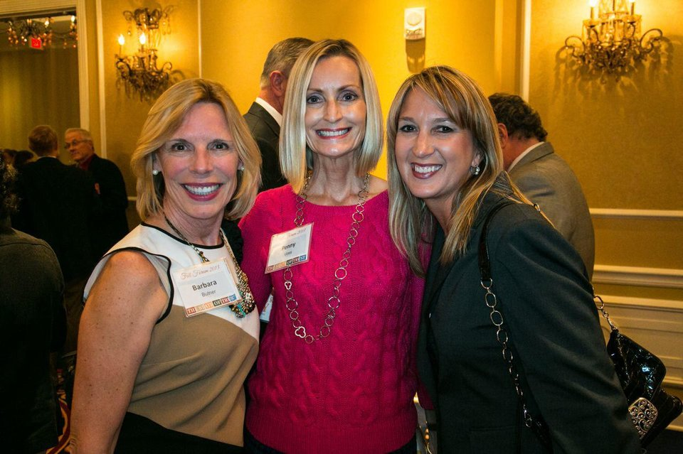 Photo - Barbara Butner, Penny Voss, Michele Campbell. PHOTO PROVIDED