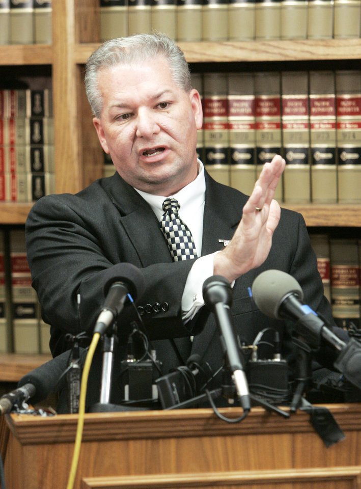 Photo - David Prater Oklahoma County  district attorney