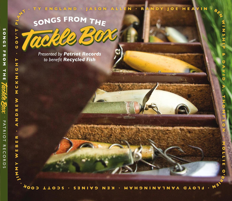 Photo - Songs From The Tackle Box can be downloaded on iTunes or ordered from www.songsfromthetacklebox.com.