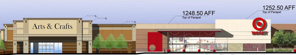 Target is under construction first at Lawton Marketplace.