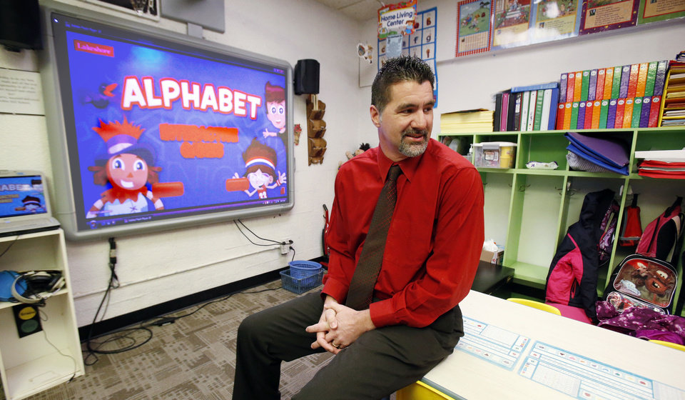 Robin Hill School district received an A under the state Education Department's A to F school evaluation system. Robin Hill School Superintendent Jim Martin is shown here.  <strong>STEVE SISNEY - THE OKLAHOMAN</strong>