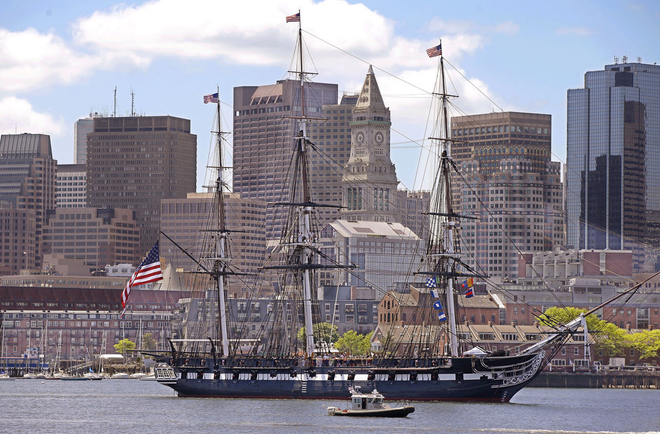 Photo - The USS Constitution, or