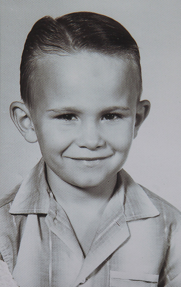 Photo -  A childhood photo of Jimmy Williams, 16, one of three teens who went missing from Sayre in 1970.  David McDaniel - The Oklahoman