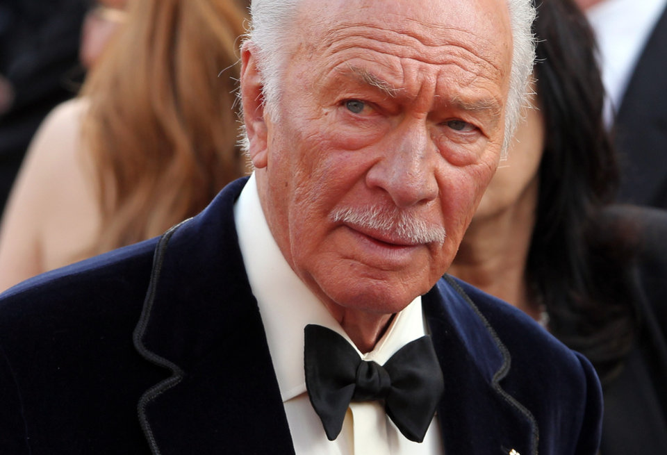 Christopher Plummer arrives before the 84th Academy Awards on Sunday, Feb. 26, 2012, in the Hollywood section of Los Angeles. (AP Photo/=220100312Name=) ORG XMIT: OSC278