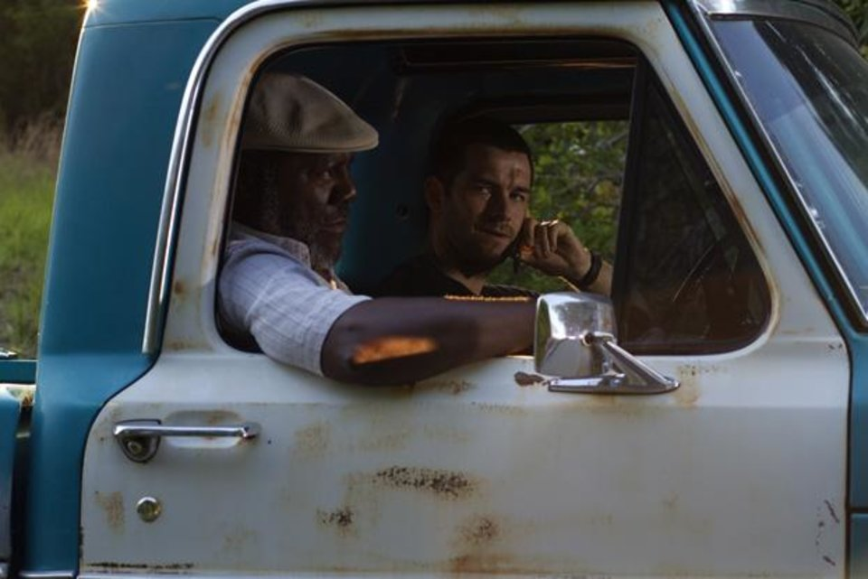 From left, Frankie Faison and Antony Starr - Photo courtesy of Fred Norris/Cinemax